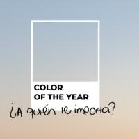 ¿A quién le importa el color del año? | Who cares about the color of the year?